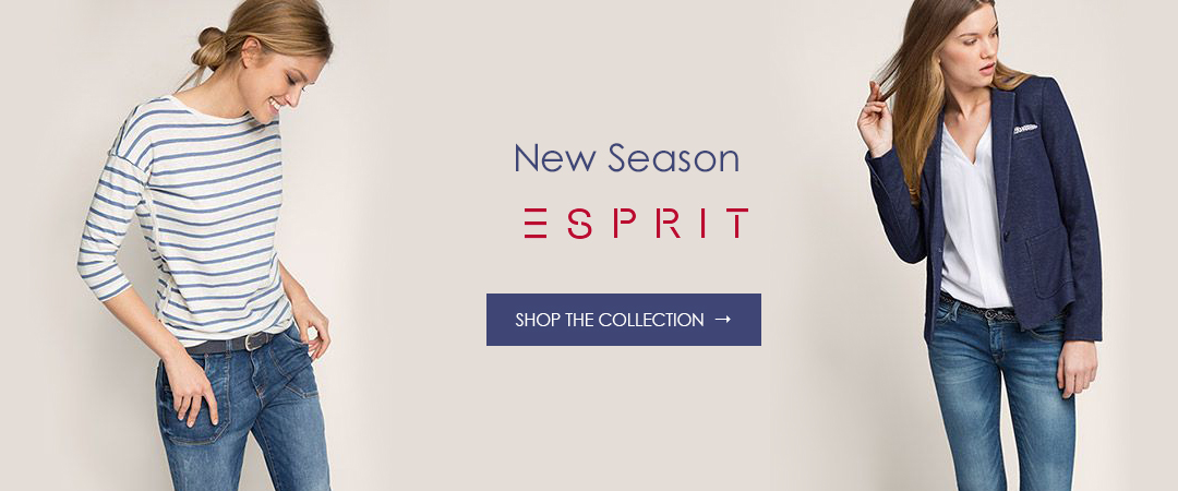 Esprit Clothing New Season