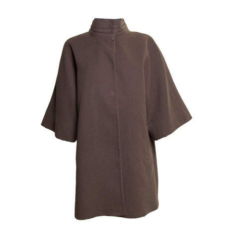 SophieB Sophie B Taupe Pleat Coat