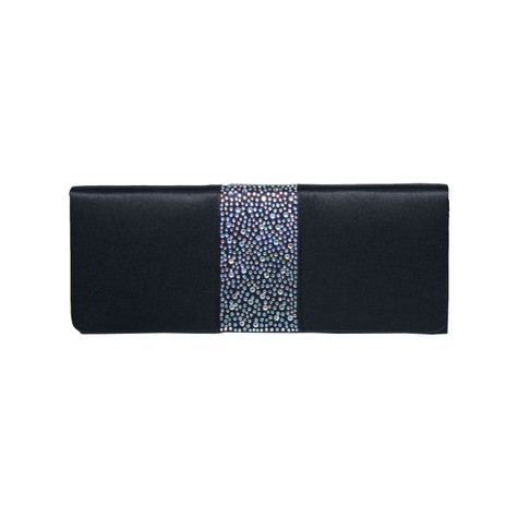 Lunar Black Stud detail bag