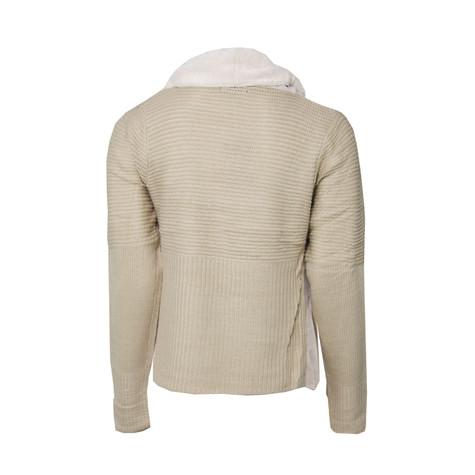 Stella Morgan Beige Fur Collar Jacket