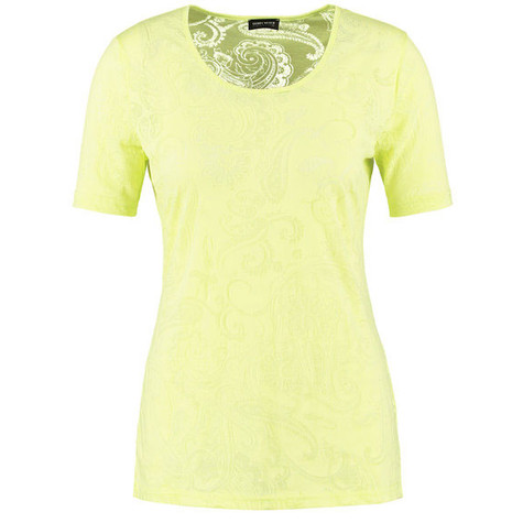 Gerry Weber Lime Round Neck Top