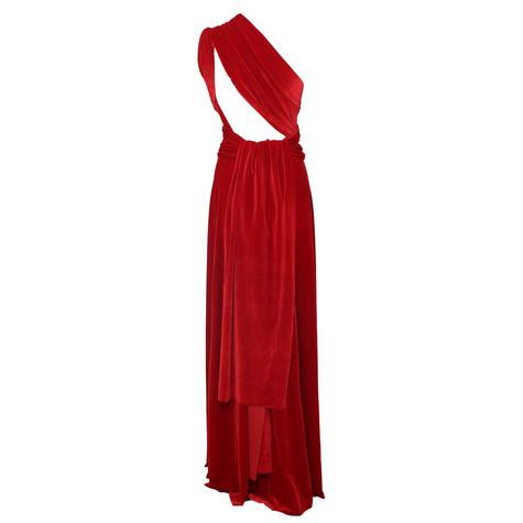 Ravon Red Long Transformer Dress