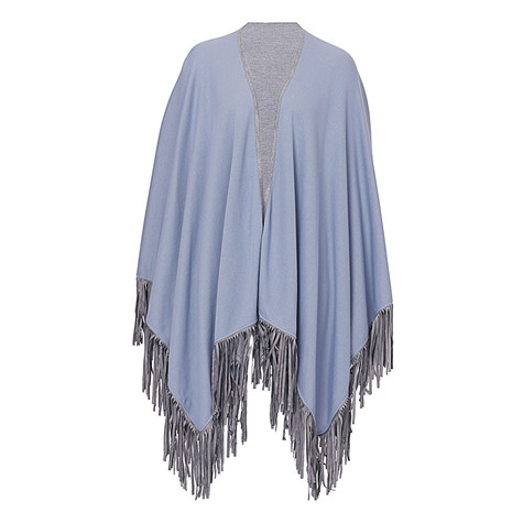 Betty Barclay Pale Blue Fade End Cape