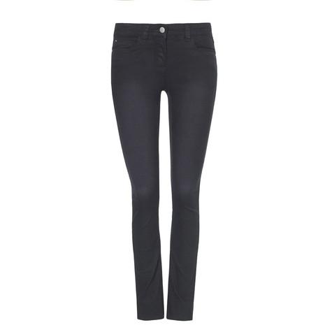 Olivia Comfy Black Denim Jeans