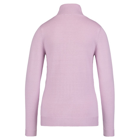 Olsen CARDIGAN ZIP FASTENER - LIGHT MAUVE