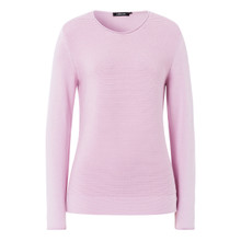 Olsen JUMPER RIBBED - LIGHT MAUVE