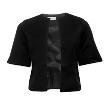 Jessica Howard Black Bell Sleeve Jacket