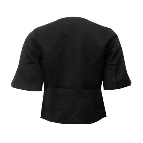 Zapara Black Bell Sleeve Jacket