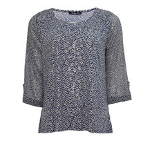 SophieB Blue Pattern Print Top