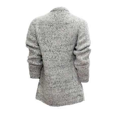 Twist Grey Cosy Open Knit