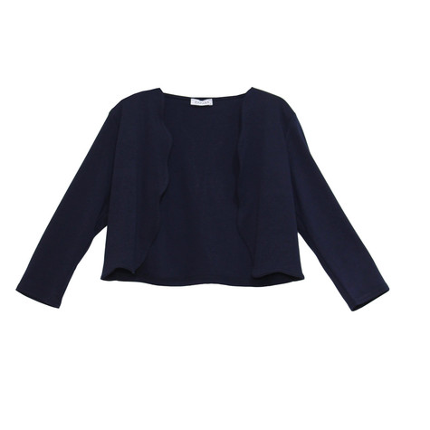 Zapara Navy Short Open Jacket