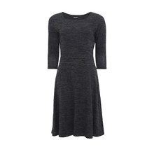Twist Grey Fit N Flare Dress