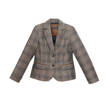Armelle Brown Tweed Jacket
