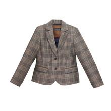 Armelle Brown Tweed Jacket