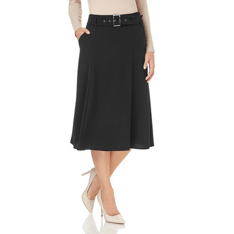 Gerry Weber Black Flared Skirt | Pamela Scott