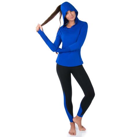 Marika COBALT INK flash hoodie