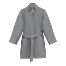 ICON Grey Long Winter Coat
