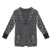 SophieB Dark Grey Open Knit