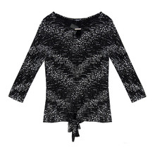 SophieB Black Sparkle Top