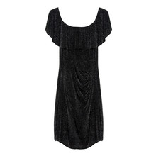 Zapara Black Sparkle Dress