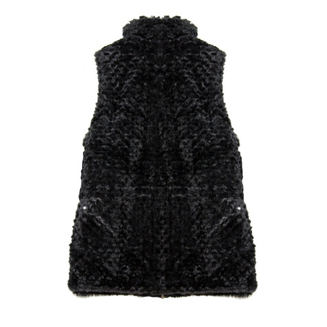 Casual Identity Black Reversible Rousso Waistcoat - NOW €40 -