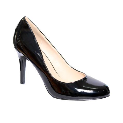 Forever Follie Black Patient Court Shoe
