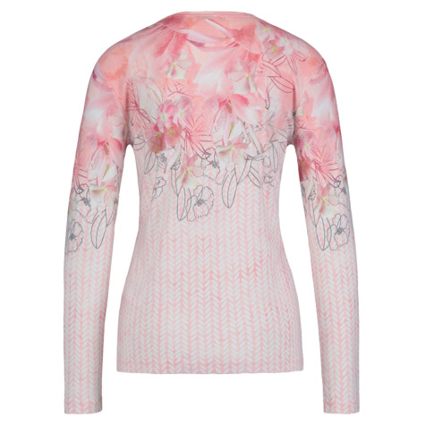 Olsen LONG-SLEEVED TOP EMBELLISHED - BLUSH