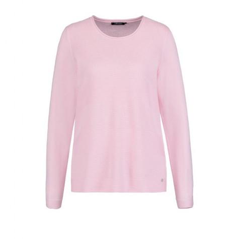 Olsen  Knitted Cowl Neck Jumper Pink