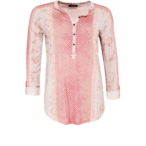 Olsen  Blush Patterned Top