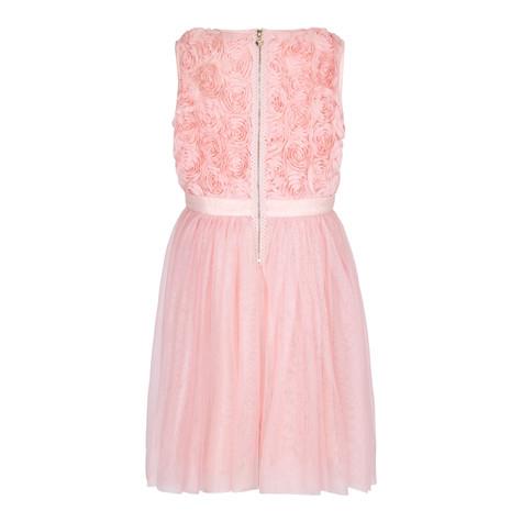 Yumi Girls 3D Rose Prom Dress