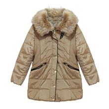 Kelya Beige Fun Fur Winter Coat - €70 -