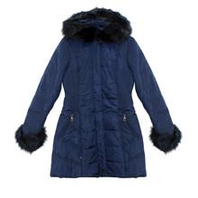 Kelya Navy Fun Fur Winter Coat - €70 -