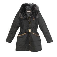Kelya Black Fun Fur Winter Coat - €70 -