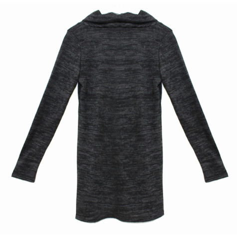 SophieB Dark Grey Turtle Neck Knit