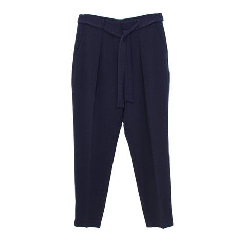 SophieB Navy Belt Tie Trousers