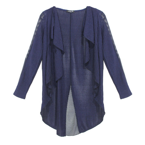 SophieB Navy Self Design Top