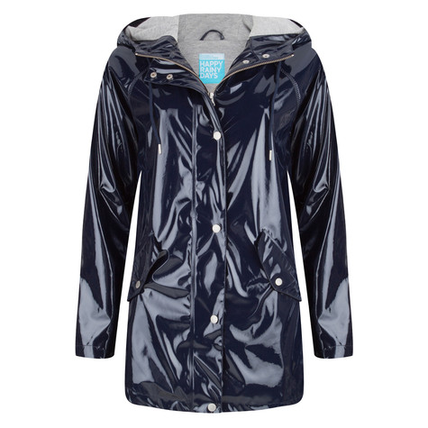 Happy Rainy Days Laquer jacket Nina navy