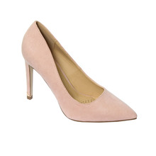 Millie & Co Beige Patent Court Shoes