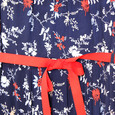 Zapara Pink, Navy & Red Floral Dress