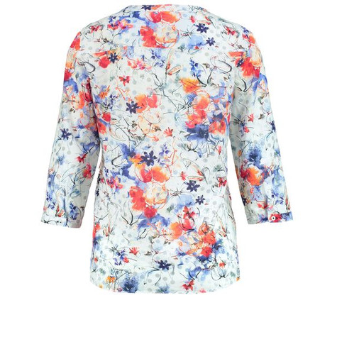 Gerry Weber BLOUSE WITH 3/4-LENGTH SLEEVES AND A FLORAL PATTERN
