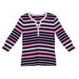 Pamela B Multi Stripe Top