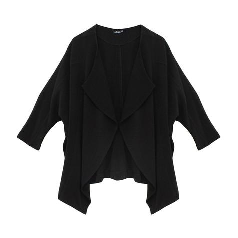 SophieB Over Sized Crepe Jacquard Jacket