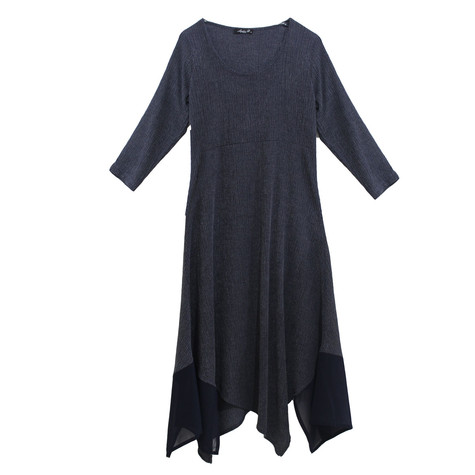 SophieB Long Soft Crinkle Dress