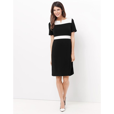 Gerry Weber BLACK & WHITE SHEATH DRESS