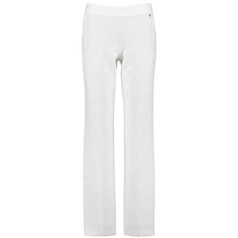 Gerry Weber WHITE TROUSERS WITH A WIDE LEG