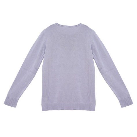 Twist Mauve Round Neck Knit