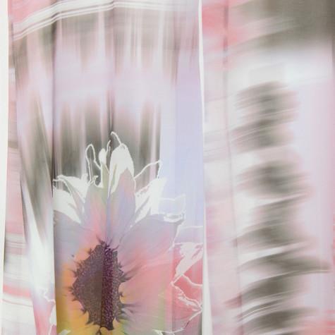 SophieB Digital Sunflower Abstract Print Dress