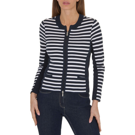 Betty Barclay Striped Cotton Jacket