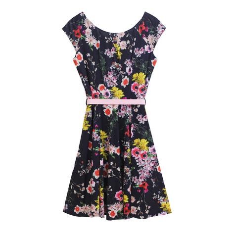 Zapara Vintage Floral Inspired Dress