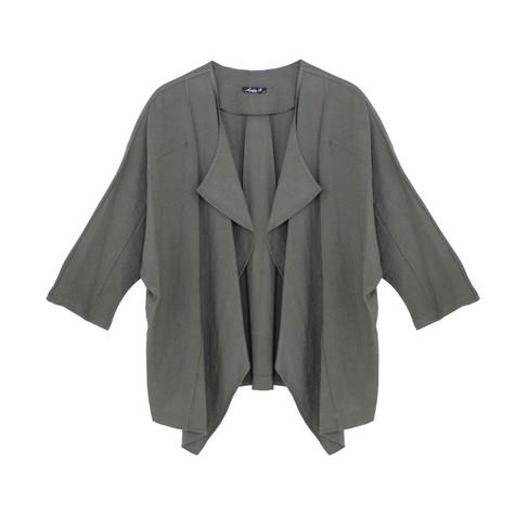 SophieB Khaki Linen Light Jacket